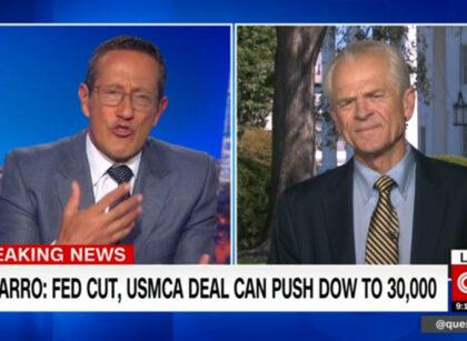 Navarro on CNN defends China tariffs: They're working