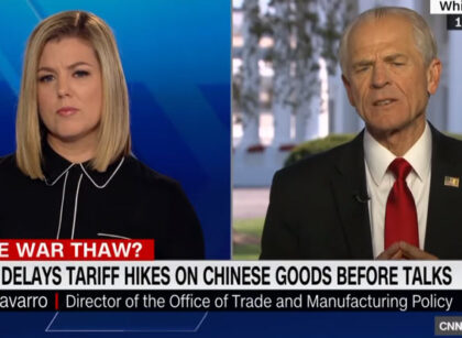 Navarro on CNN: Trump's decision to delay Chinese tariffs
