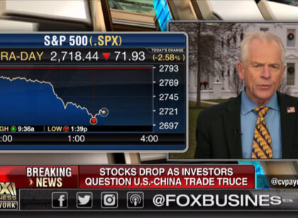 Markets need patience on trade: Peter Navarro on FBN