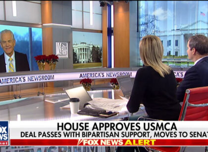 FBN: White House pushes back on Pelosi taking credit for USMCA