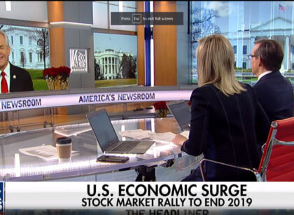 White House trade adviser Peter Navarro predicts US economy will continue to roar in 2020