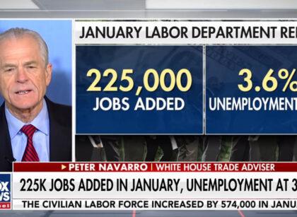 Fox News: Navarro talks January jobs report, trade deficit, China trade deal, Amazon, Jeff Bezos