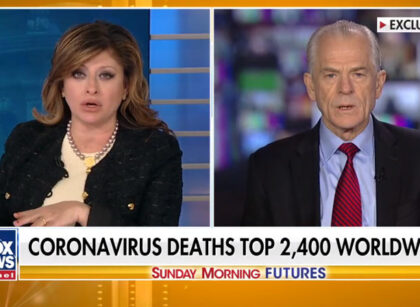 Fox News: Peter Navarro on how US is fighting the spread of coronavirus