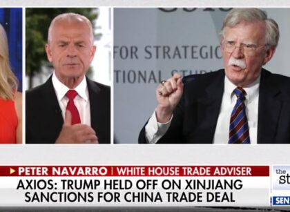 Peter Navarro dismisses John Bolton's claims about China sanctions: 'He's a liar'