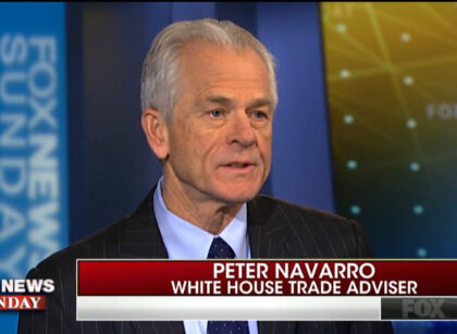 Fox News: White House trade adviser makes the case for steel and aluminum tariffs