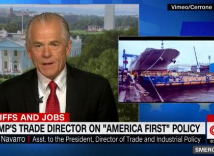 Navarro with CNN's Smerconish: WTO, GM