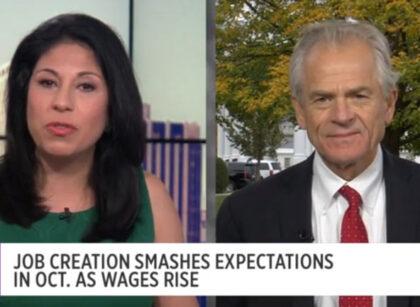 Jobs report a 'validation' of Trump's economic approach: Peter Navarro